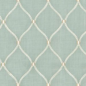Williamsburg Shore Deane Embroidery Fabric, Upholstery, Drapery, Home Accent, PK Lifestyles,  Savvy Swatch
