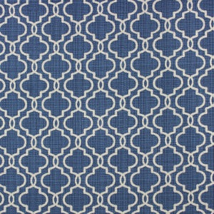 RICHLOOM FORTRESS ACRYLIC EXETER BALTIC LATTICE INDOOR OUTDOOR UPHOLSTERY FABRIC, Upholstery, Drapery, Home Accent, TNT,  Savvy Swatch