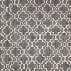 RICHLOOM FORTRESS ACRYLIC EXETER PEWTER LATTICE INDOOR OUTDOOR UPHOLSTERY FABRIC, Upholstery, Drapery, Home Accent, TNT,  Savvy Swatch