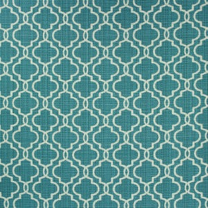 RICHLOOM FORTRESS ACRYLIC EXETER POOL LATTICE INDOOR OUTDOOR UPHOLSTERY FABRIC, Upholstery, Drapery, Home Accent, TNT,  Savvy Swatch