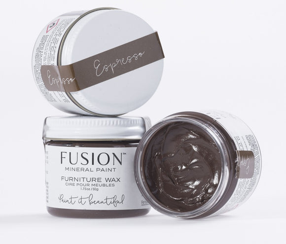 Espresso Furniture Wax - Fusion Mineral Paint