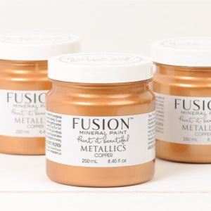 Copper Metallic - Fusion Mineral Paint, Paint, Fusion Mineral Paint,  Savvy Swatch