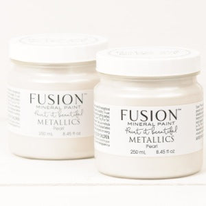 Pearl Metallic -  Fusion Mineral Paint, Paint, Fusion Mineral Paint,  Savvy Swatch