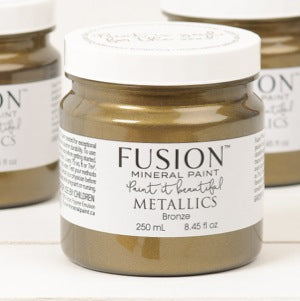 Bronze Metallic - Fusion Mineral Paint, Paint, Fusion Mineral Paint,  Savvy Swatch