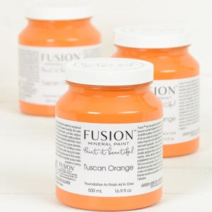Tuscan Orange - Fusion Mineral Paint, Paint, Fusion Mineral Paint,  Savvy Swatch