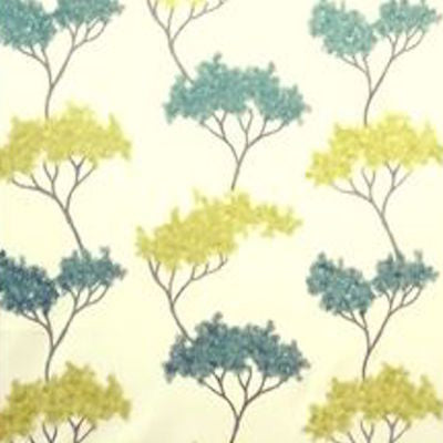 6807613 Serengeti Aqua Embroidered Decorator Fabric, Upholstery, Drapery, Home Accent, Greenhouse,  Savvy Swatch