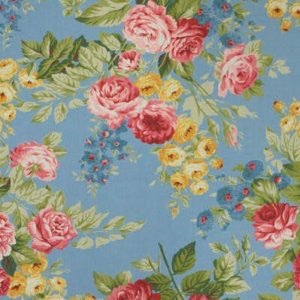 Ralph Lauren Garden Harbor Floral Fabric 8.9yard bolt