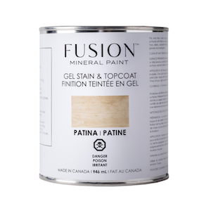 Patina Gel Stain & Topcoat - Fusion Mineral Paint