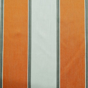Mason Tangerine Wide Stripe Upholstery Decorator Fabric by Golding, Upholstery, Drapery, Home Accent, Golding,  Savvy Swatch
