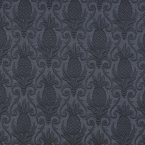 Greetings Indigo Pineapple Matelasse Decorator Fabric by Regal, Upholstery, Drapery, Home Accent, Regal,  Savvy Swatch