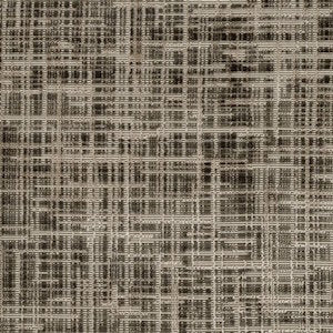Beacon Hill Grid Velvet Granite Fabric