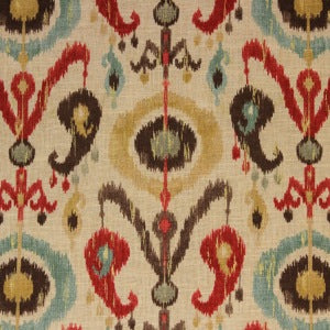 Richloom Holiday Persian Decorator Fabric, Upholstery, Drapery, Home Accent, Richloom 2,  Savvy Swatch