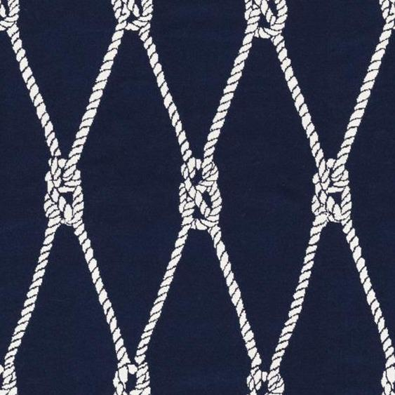 Docking Nautical Outdoor Reversible Fabric - Altizer, Indoor/Outdoor, Altizer,  Savvy Swatch