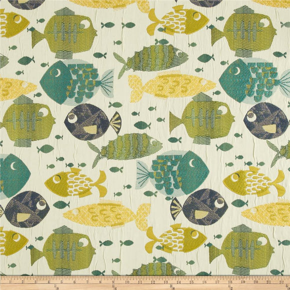 Swavelle Millcreek Something's Fishy - Tide, Upholstery, Drapery, Home Accent, Swavelle Millcreek,  Savvy Swatch