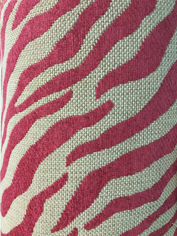 Textile Fabric Associates Tigani Fuchsia Decorator Fabric, Upholstery, Drapery, Home Accent, TFA,  Savvy Swatch