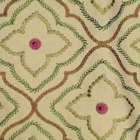 P. Kaufmann Tiled Parrot Decorator Fabric, Upholstery, Drapery, Home Accent, Savvy Swatch,  Savvy Swatch