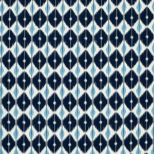 Schumacher Sarong Indigo Decorator Fabric, Upholstery, Drapery, Home Accent, Schumacher,  Savvy Swatch