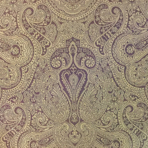 Brown Paisley Decorator Fabric, Upholstery, Drapery, Home Accent, Savvy Swatch,  Savvy Swatch