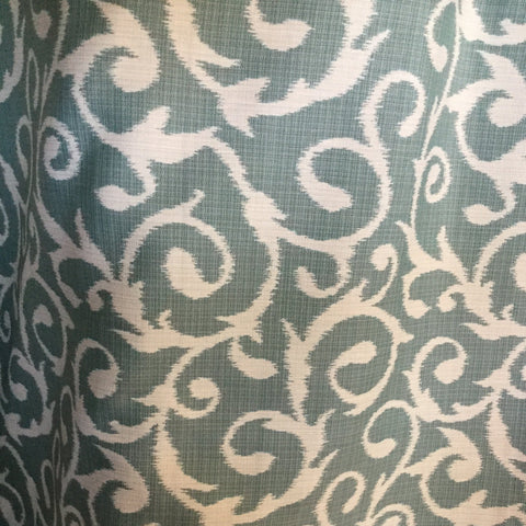 Outdura Chateau Ocean Decorator Fabric, Upholstery, Drapery, Home Accent, Outdura,  Savvy Swatch