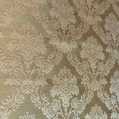 Greenhouse Gold Afternoon Damask Decorator Fabric, Upholstery, Drapery, Home Accent, Greenhouse,  Savvy Swatch