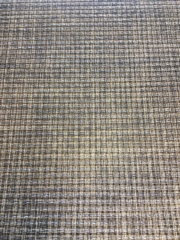 Phifertex Black Silver Grey and Cream Mesh Fabric, Indoor/Outdoor, Savvy Swatch,  Savvy Swatch