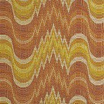 Clarence House Zigoto Sun Yellow/Apricot Decorator Fabric, Drapery, Home Accent, Hamilton Fabrics,  Savvy Swatch