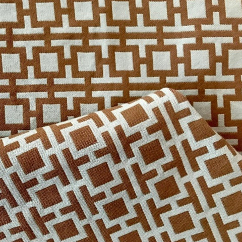 Al Fresco Altizer Lock Block Robins Egg High UV Woven Polyester Indoor/Outdoor Decorator Fabric