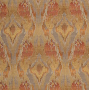 Jango in Tango Chenille Upholstery Fabric by TFA