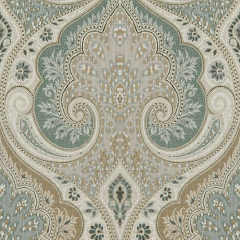 Latika Seafoam Upholstery Decorator Fabric by Savvy Swatch, Upholstery, Drapery, Home Accent, Savvy Swatch,  Savvy Swatch