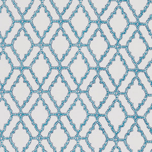 Kai Cyan by Lacefield Designs, Upholstery, Drapery, Home Accent, Savvy Swatch,  Savvy Swatch