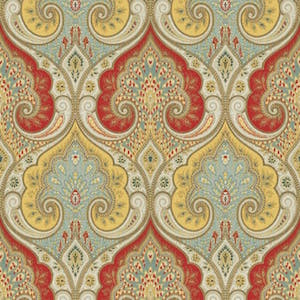 Latika Festival Fabric, Upholstery, Drapery, Home Accent, Tempo,  Savvy Swatch