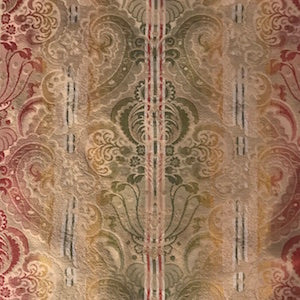 Marley Sunrise Damask Fabric