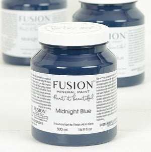 Midnight Blue - Fusion Mineral Paint, Paint, Fusion Mineral Paint,  Savvy Swatch