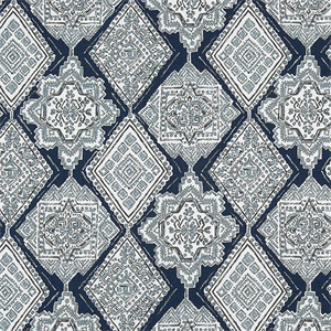 Milan Vintage Indigo Decorator Fabric by Premier Prints, Upholstery, Drapery, Home Accent, Premier Prints,  Savvy Swatch