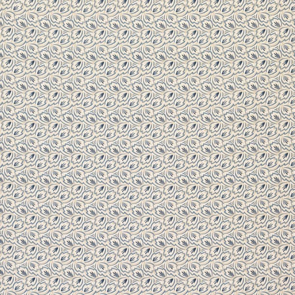 3.3 yards of Elcho Blue designer Fabric by Osbourne and Little, Upholstery, Drapery, Home Accent, Savvy Swatch,  Savvy Swatch