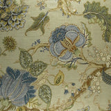 1.4 yards P. Kaufmann Florabunda Sea Glass Decorator Fabric, Upholstery, Drapery, Home Accent, P Kaufmann,  Savvy Swatch