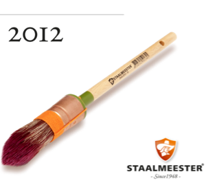 Staalmeester Pointed Sash Brushes (2 different sizes) - Fusion Mineral Paint