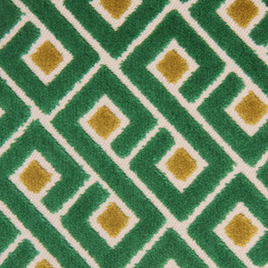 Richloom Tether Emerald Decorator Fabric, Upholstery, Drapery, Home Accent, TNT,  Savvy Swatch