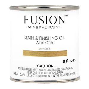 Driftwood Stain & Finishing Oil All in One Wood Finish - Fusion Mineral Paint