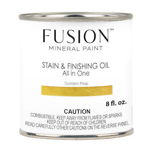Golden Pine Stain & Finishing Oil All in One Wood Finish - Fusion Mineral Paint