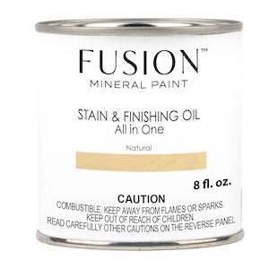 Natural Stain & Finishing Oil All in One Wood Finish - Fusion Mineral Paint