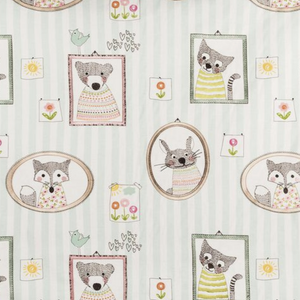Golding Fuzzy Faces Animal Decorator Fabric