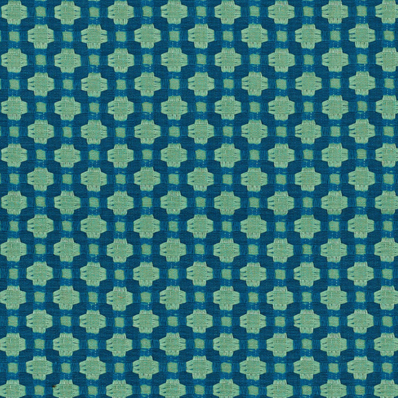 Betwixt Peacock Seaglass Designer Fabric 1.3 yard Piece