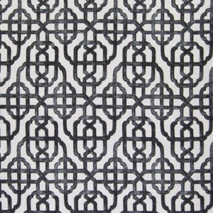 Imperial Charcoal Woven Decorator Fabric