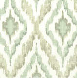 Greenhouse B6562 Tiffany Embroidered Ikat City Dreams Color My Window Fabric