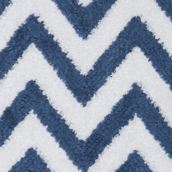 Donghia Zig Zag Blue DG-10194 - 002 Indoor/Outdoor Fabric