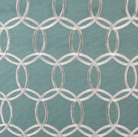 Duralee Fabrics Pattern 32166 Color 691 Robins Egg, Drapery, Home Accent, Braemore,  Savvy Swatch