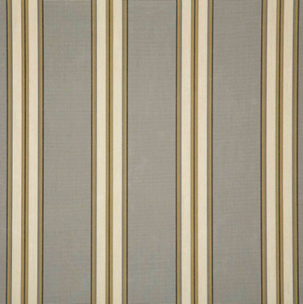 "Sunbrella® Awning Stripe 4768‑0000 Preston Stone 46"" Outdoor Fabric"