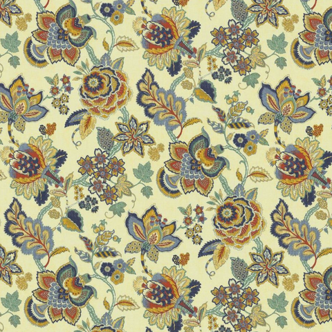Belle Maison Cordelia Kate's Garden Americana Fabric, Upholstery, Drapery, Home Accent, Savvy Swatch,  Savvy Swatch