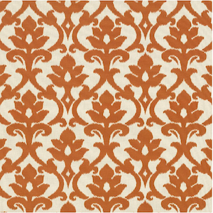 Zander Tangerine Decorator Fabric, Drapery, Home Accent, TNT,  Savvy Swatch